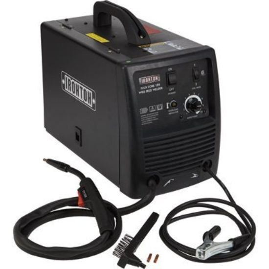 Ironton Flux Core 125 115V Flux Cored Welder