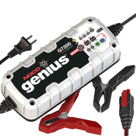 NOCO Genius G7200 7.2A UltraSafe Smart Battery Charger