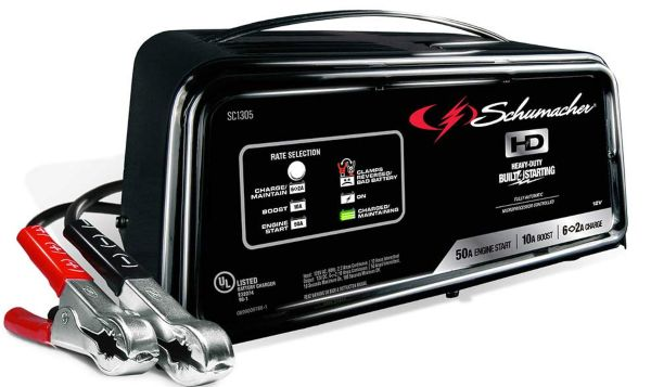 Schumacher SC-1200A-CA SpeedCharge 12Amp Fully Automatic Battery Charger